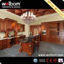 Precio de Venta Diseño Sencillo Tallado Muebles de Madera Maciza