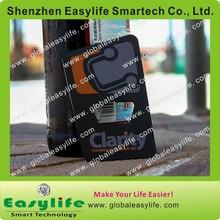 Business Card Size Casino Metal Bottle Opener Card with Matt Chrome Business Bottle Opener Card