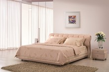 Modern European Style Leather Bed Pictures Of Double Bed Designs