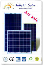 high efficient new solar panel price with TUV,CE,ISO,CEC
