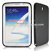 Tablet N5100 Black frosted TPU gel case for Samsung Galaxy Note 8.0 case