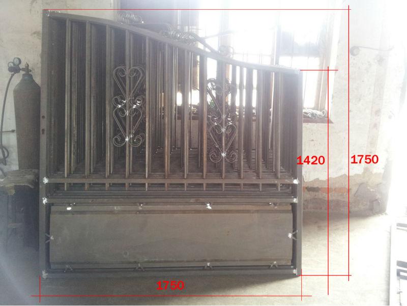 Largement utilis pour la maison et d coration de jardin for Decoration fenetre en fer