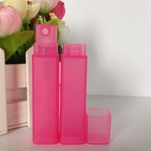 square perfume bottle pen with spray