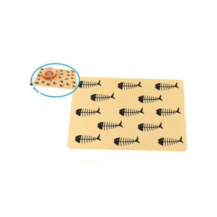Venda quente Impermeável Antiderrapante Alimentos Bacia de Alimentação Do Cão Tapete Pet