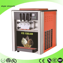 New type with CE approved spaghetti ice cream machine