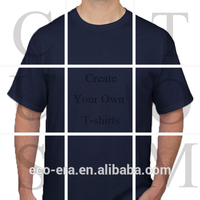 Cheap Custom Printed T-shirt Wholesale Plain Tshirt Create Your Own Fashion Style