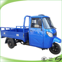 200cc water cooled closed cabin cargo trikes