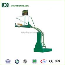 Professional inground basketball stand