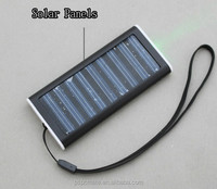 Black 1200mah Solar Battery Panel Charger For Smart Phone, Camera, MP3/MP4, PDA