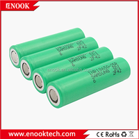 Samsung INR18650 25R battery for 3.7V 18650 high drain rechargeable batteries for electric bike