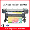 1.6M digital eco solvent printer price with DX7 printhead, 17sqm/hour printing speed