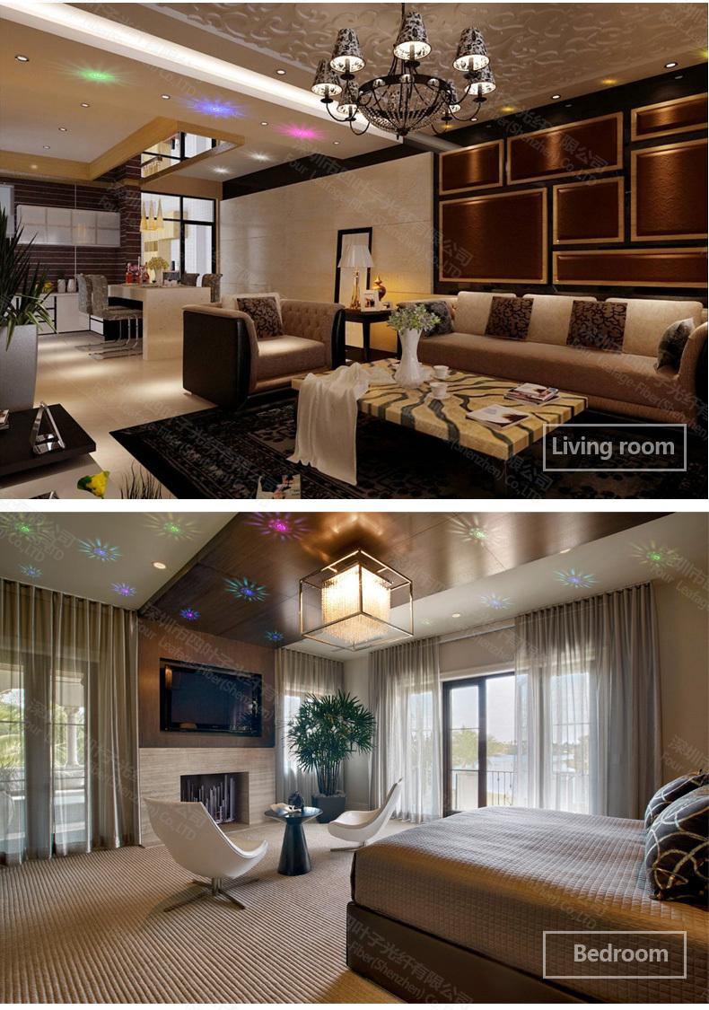 Soffitto cielo stellato led : Zw-01 decorazione della casa indoor risparmio energetico in ...