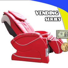 Stable paper money operated massage chair
