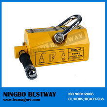 Top high large quality ISO9001 hot sales cheap permanent magnetic lifter 100-500kg