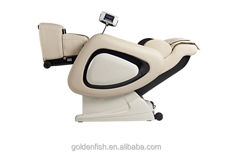Wholesale zero gravity salon white leather massage chair for Gravity salon