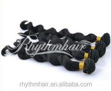 Natural loose wave wholesale brazilian human hair extension 6a remy brazilian hair extension