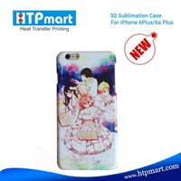Custom Printed 3D Blank Smart phone Case and Cover Sublimation Printing for iPhone 6S Plus