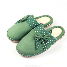 china bedroom ladies rubber sole slippers