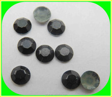 rushed hot sale strong glue aluminum metal hot-fix octagon/iron on nailhead studs for garment ,hats.clothes and shoes decoration