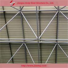 Pre engineered commercial buildings prefab steel frame roof system
