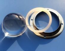 LED low bay light lens 66mm glass lens 60degree(KB-HB66-60)