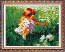Wholesale DIY full diamond painting picture for decoration