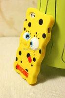 новый список мультфильм Губка Боб телефона чехол для iphone5 5s силиконовый телефон корпуса ТПУ сотовый телефон