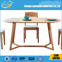 Solid Wood Plank Furniture Slab Classic Dining Table -#DT007-M3