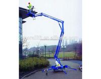 Crank arm genie lift telescopic boom lift