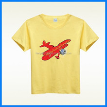 Promotional Children's pure cotton TShirt/Kid t shirt/boy's blank t shirt