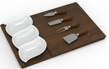 New style fashion Snack plate(plate/tray/knives)