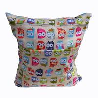 Ohbabyka washable wet bag for baby diapers holding both dry & soliled diapers separately