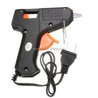 Hot Sale 20W 110v-240v 7mm Glue Sticks Electric Heating Hot Melt Glue Gun Sticks Trigger Art Craft Repair Tool Black US Plug