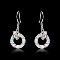 Wholesale Websites in China,925 Sterling Silver Colorful Crystal Jewelry