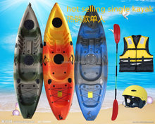 hot selling single fishing kayak in Australian and england