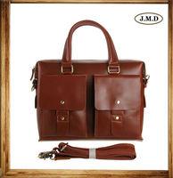 7001X Stylish Genuine Leather Briefcase Man Hard Leather Handbag