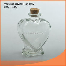 Super quality useful custom glass herbs storage jar