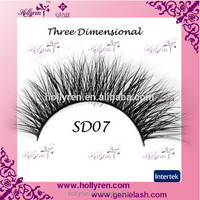 3D mink fur eyelash real mink fur eyelash