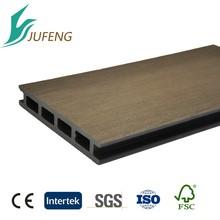 wpc hollow outdoor artificial wood flooring