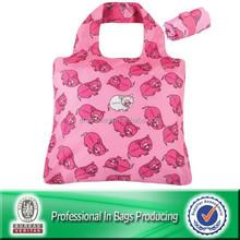 Portable Waterproof reusable 190t reusable shopping bag