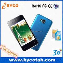 best smart phone dual sim / 4.8 screen phone / slim phone