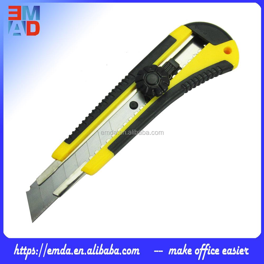 مكتب ورقة قطع التلقائي سكينة مع السلامة قفل