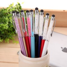 crystal stylus pen for Office material school supplies