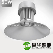 Super quality custom 220V 80watts led factory high bay lamp, led industrial lamps high bays 80W