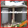 Window villa motorized exterior shutter