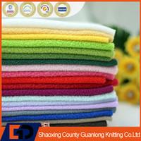 100 polyester micro anti pilling polar fleece fabric
