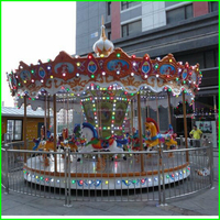 china cheap fun adult toys ride used merry go round horses for sale
