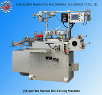 JH-360 Iml die cutting machine paper die cutting machine label die cutting machine made in china shenzhen