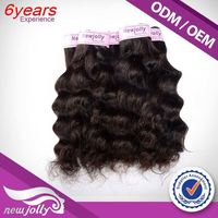 Natural Double Weft Retail Available Kids Ponytail Hair Extension