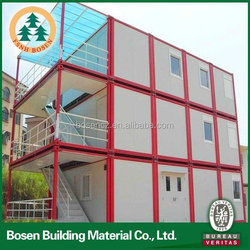 high qualtiy and best price luxury new design modern container house drawing